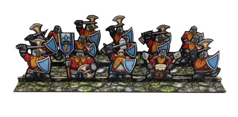 printable heroes dwarf these alternative tabletop miniatures are creative cheap