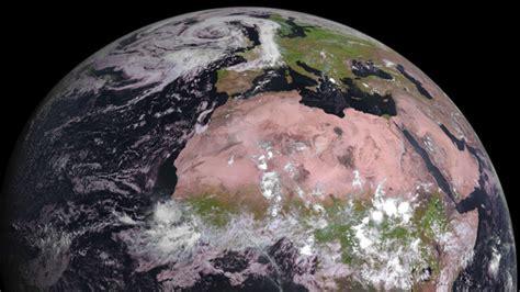 imagenes satelitales infrarrojas el sat 233 lite meteorol 243 gico msg 4 env 237 a sus primeras