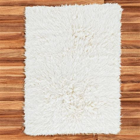 Karpet Flokati flokati white curly layer photo prop baby 100 duck