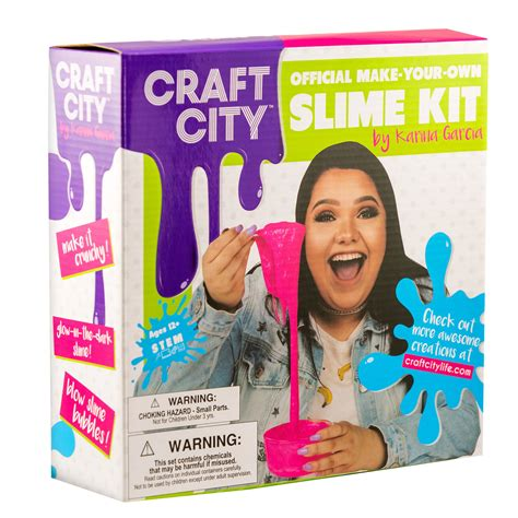 karina garcia s craft city slime kit review giveaway the naptime reviewer - Karina Garcia Giveaway