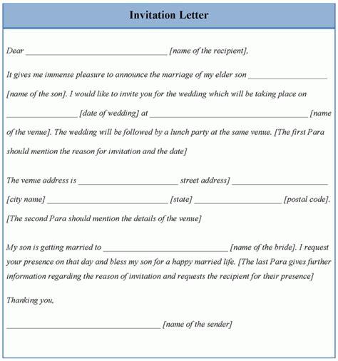 letter template for invitation template of invitation