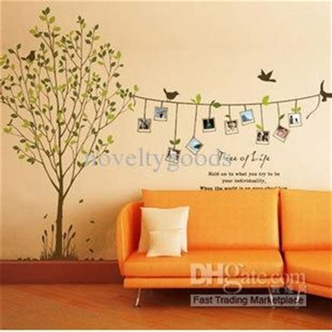 Wall Paper Sticker 146 tree wall stickers decorative wall paper sticker in wall clocks from home garden on