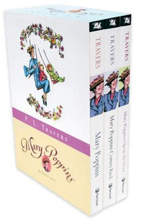 mary poppins boxed pin set mary poppins boxed set dr p l travers 9780152058692