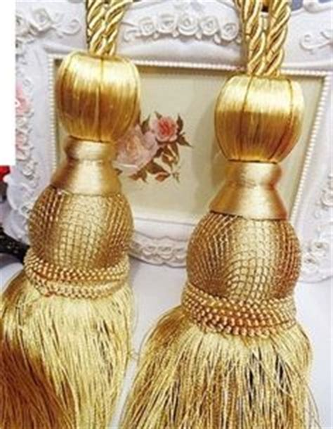gold curtain tassels 1000 images about curtain tassel tiebacks on pinterest
