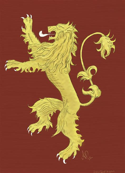 house lannister game of thrones house lannister sigil www imgkid com