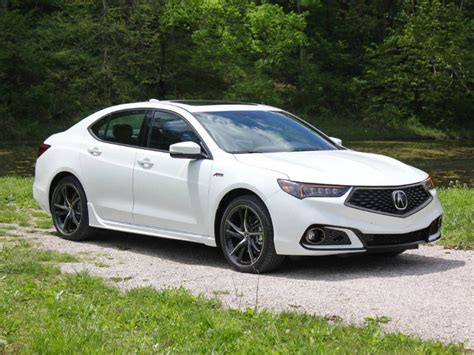 Acura Tlx Review 2018 Acura Tlx Road Test And Review Autobytel