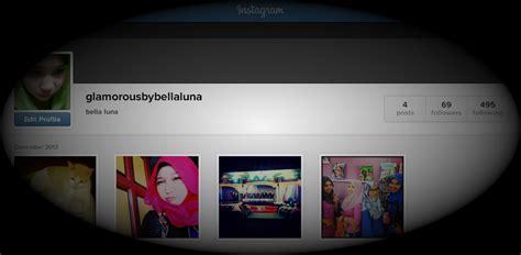 the tutorial blog instagram glamorous by bella luna tutorial instagram di blog