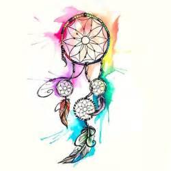 25 best watercolor dreamcatcher tattoo ideas on pinterest