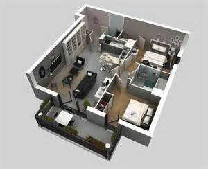 home design 3d 2 bhk 50 3d floor plans lay out designs for 2 bedroom house or
