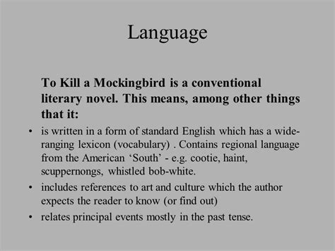 themes of family in to kill a mockingbird to kill a mocking bird learning outcomes ppt download
