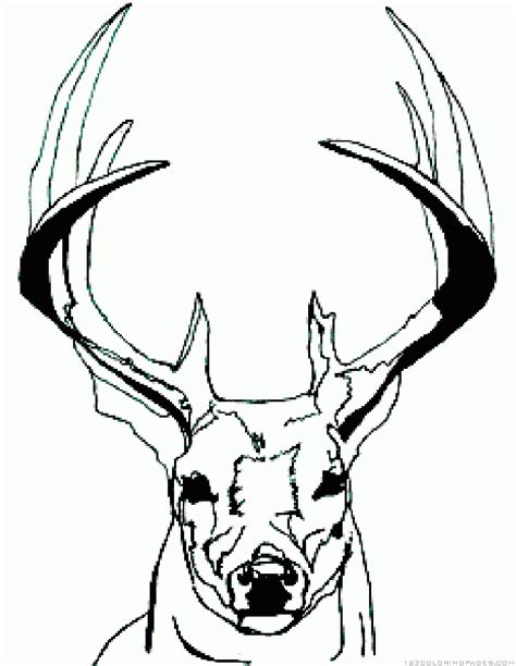 cartoon deer coloring pages deer coloring pages