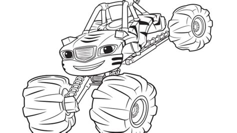 blaze monster truck coloring page blaze and the monster machines coloring pages
