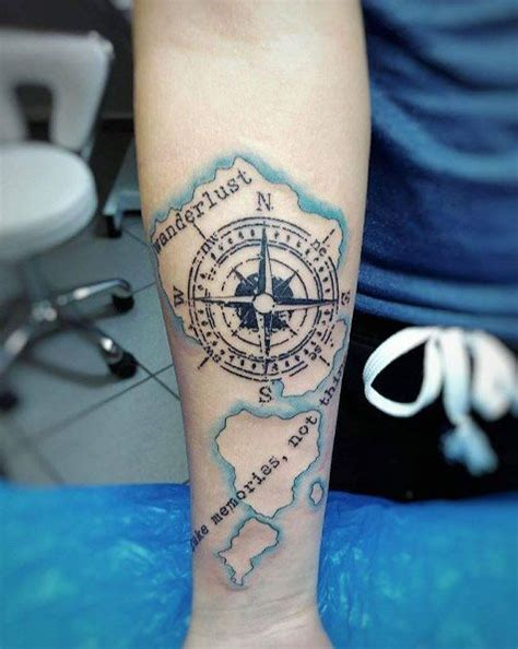 travel themed tattoos 45 inspirational travel tattoos that are beyond