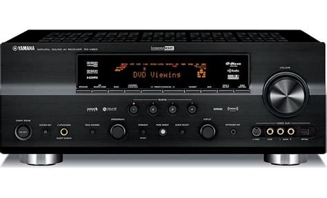 Home Theater Receiver Reviews by Yamaha Rx V863 Home Theater Receiver With Hdmi Switching