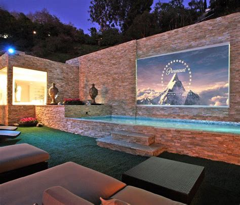 17 best ideas about outdoor projector on