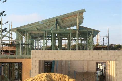 Skillion Roof Construction Roof Carpentry Vander Construction