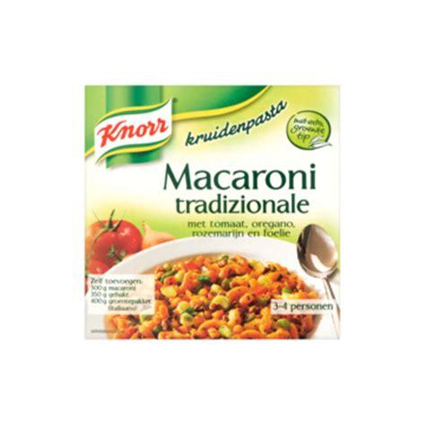 zonnebloemolie door toilet macaroni kruidenmix knorr 6 zakjes maaltijd kruidenmixen