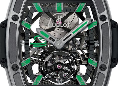 Hublot Senna 88 Black Leather hublot mp 06 senna act iv time and watches