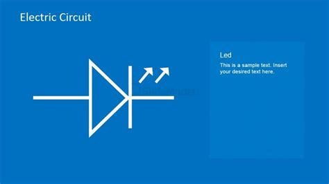 light emitting diode working ppt led circuit powerpoint template slidemodel