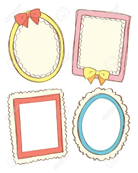 design html page showing forms and frames cute blank clipart frame clipground