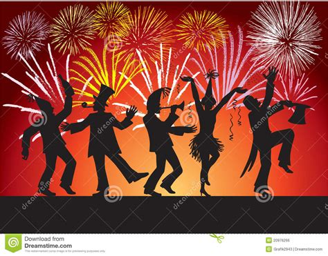 Jewish Festival Of Lights Some Happy People Celebrating Royalty Free Stock Image