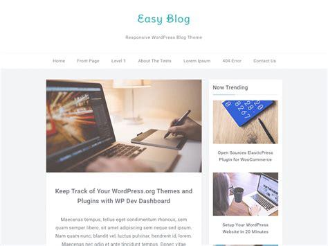 wordpress themes free logo best free personal blog wordpress theme 2016 weblizar