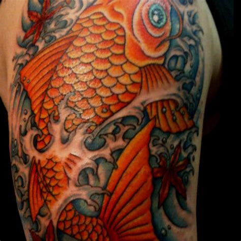 koi tattoo modern koi dragon full sleeve tattoo design idea for men and women