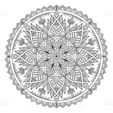 mandala pattern history mandala oriental pattern stock vector art more images of