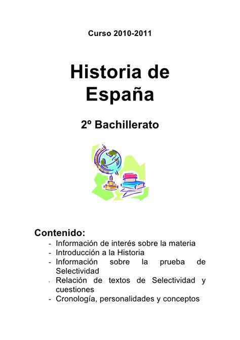 historia de espaa vol tema 0 historia de espa 241 a