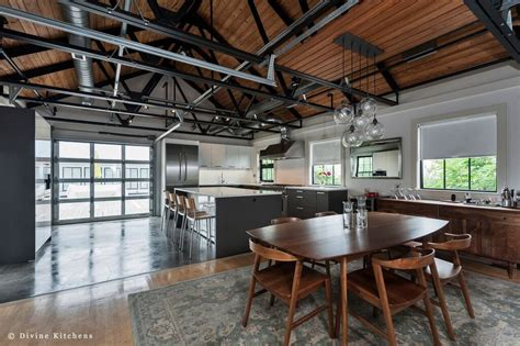 industrial kitchens design modern kitchens