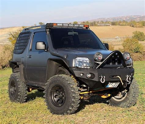 Suzuki Jimny Road Modifications Suzuki Jimny 4x4 And Offroad On