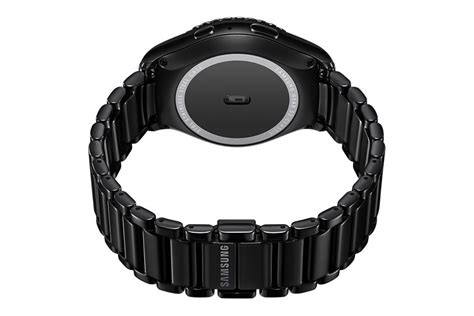 Samsung introduces a very stylish ceramic bracelet for the Gear S2   SamMobile
