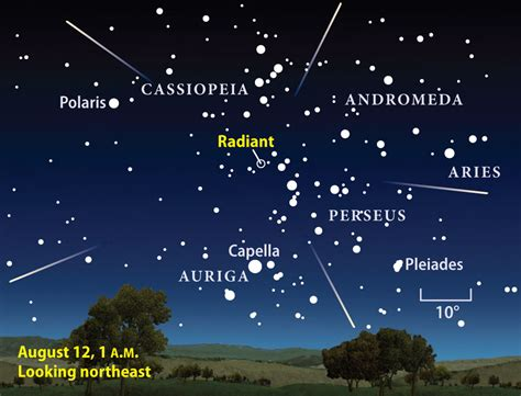 How To See The Perseid Meteor Shower by Perseid Meteor Shower And Moon To Occur Together This