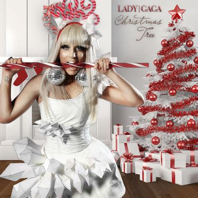 leave it to beaverhausen lady gaga white christmas