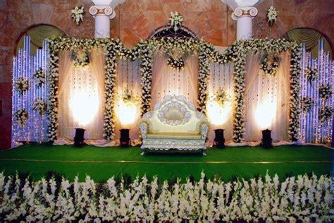 Marriage Stage Flower Decoration by Bangalore Stage Decoration Design 377 Wedding Reception