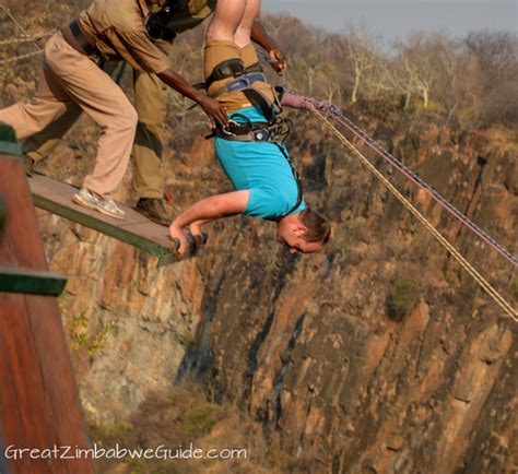 victoria falls swing our victoria falls gorge swing and adventure slide