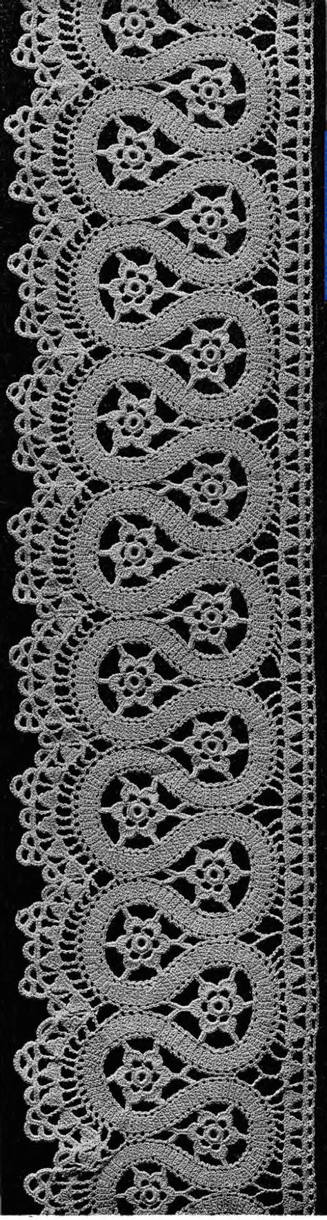 antique pattern library bobbin lace crochet lace booklet in the public domain from madame