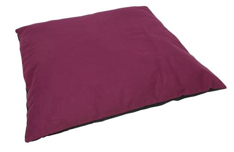large pillows for bed freshmarine com offers dogit pillow bed canvas burgundy