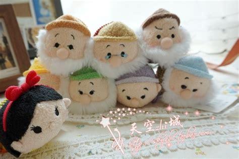 Snow White And The Dwarfs Tsum Tsum Vinyl Figure Original 8pcs lot tsum tsum toys snow white and seven dwarfs tsum