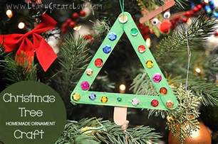 popsicle stick christmas trees munchkins and mayhem
