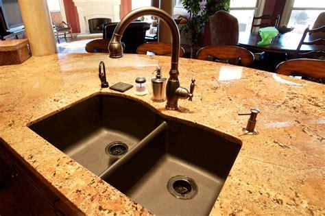 kitchen sinks undermount granite composite undermount granite composite kitchen sinks houzer v 100u