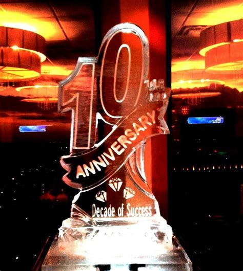 10th Wedding Anniversary Event Ideas by 10th Anniversary Sculpture For A Corporate Event