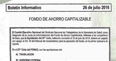 Tope De Fondo De Ahorro 2016 | tope de fondo de ahorro 2016 tope de fondo de ahorro