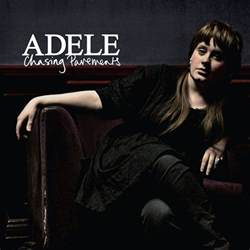 Single Cover Chasing Pavements Adele Score And Track Sheet