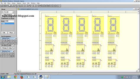 cara membuat jam digital dengan ic cara membuat rangkaian jam dengan protel schematic