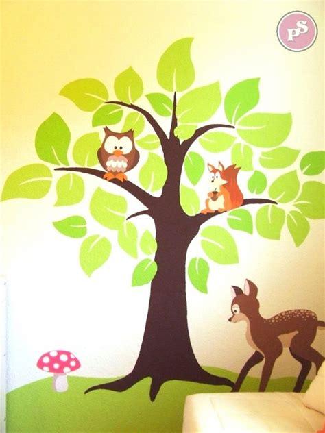 kinderzimmer haus malen wandbilder kinderzimmer selber malen haus design ideen