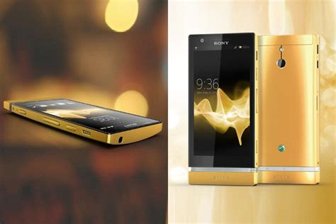 The Geeks Gold Grills The 24 Carat Ipod by Sony Xperia P 24 Carat Gold Bonjourlife