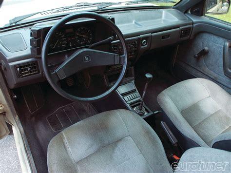 volkswagen wagon interior 1989 vw fox wagon armed dangerous eurotuner magazine