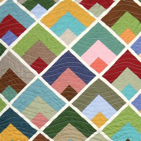 Quarter Quilting by 22 Best Images About Quarter Log Cabins On