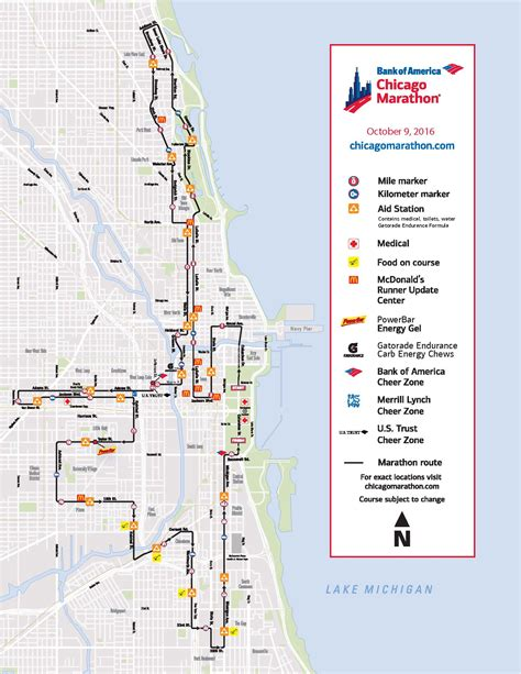 chicago marathon map 2016 chicago marathon 2016 closures chicago